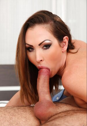 Dream bj by exceptional owned with big jugs and sexy face Yasmin Scott