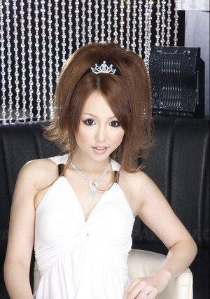 Remarkable Japanese babes in tiara elementarily can become queens of whatever prom